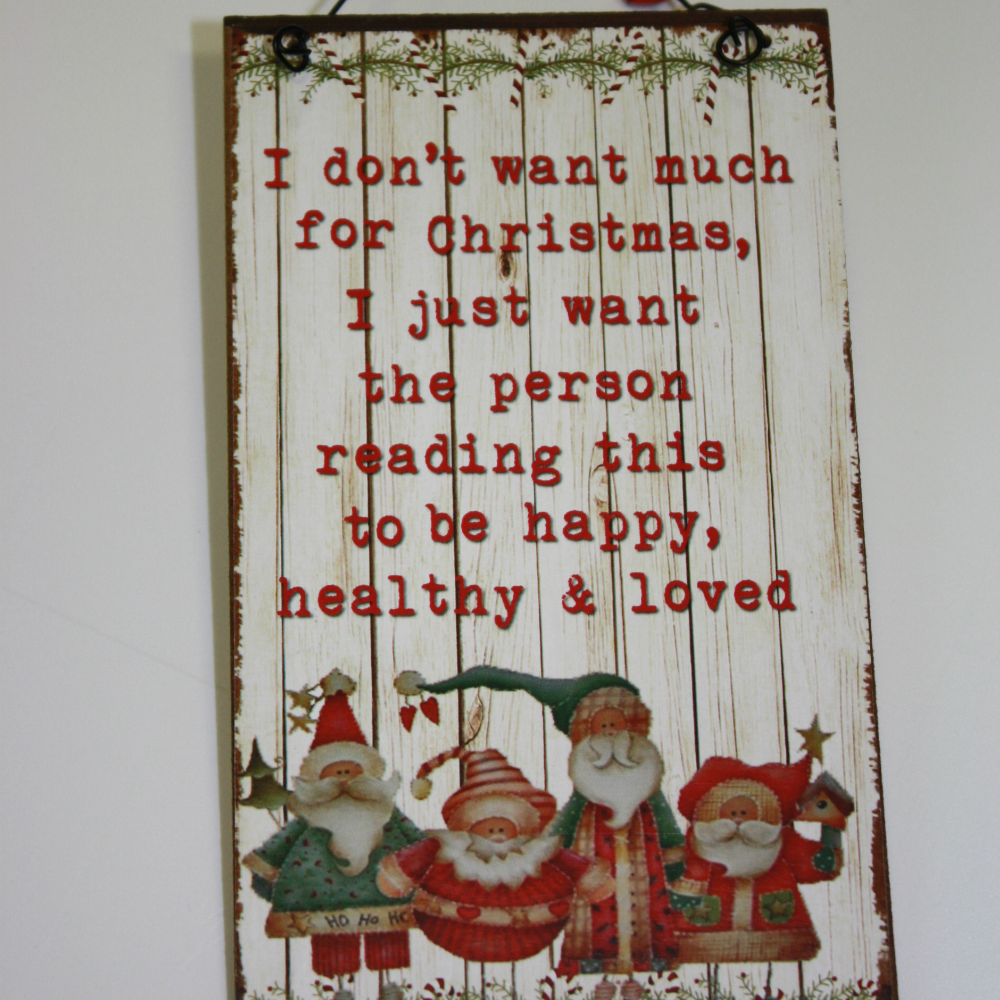 Jolly Santa Door Hanger