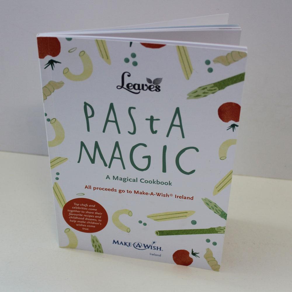 Leaves Pasta Magic Cookbook