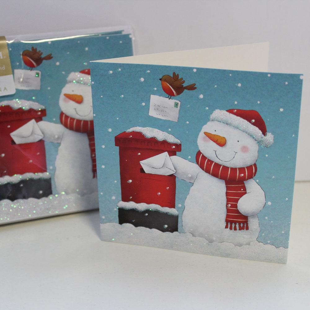 Christmas Cards - Snowman