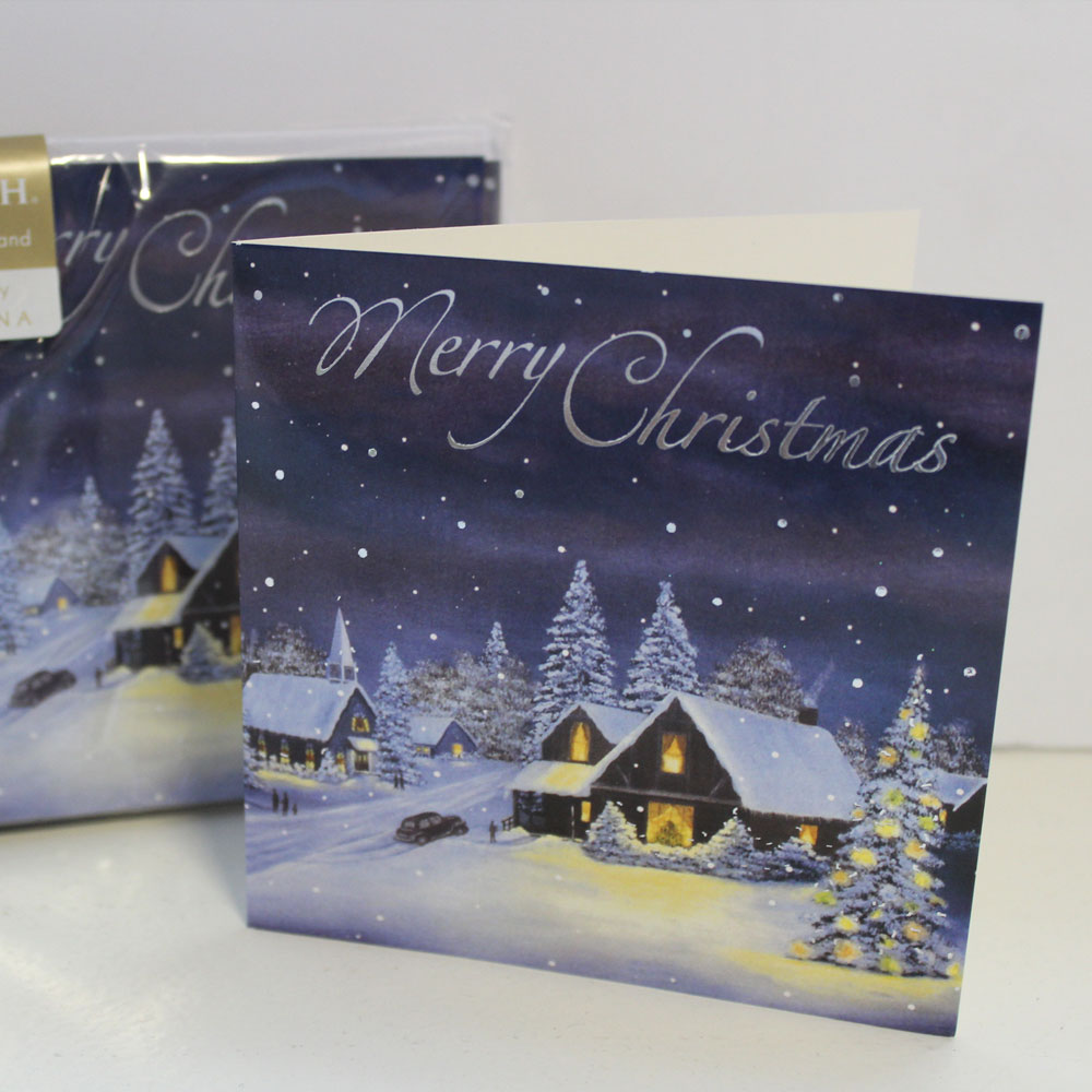 Christmas Cards - Snow Scene