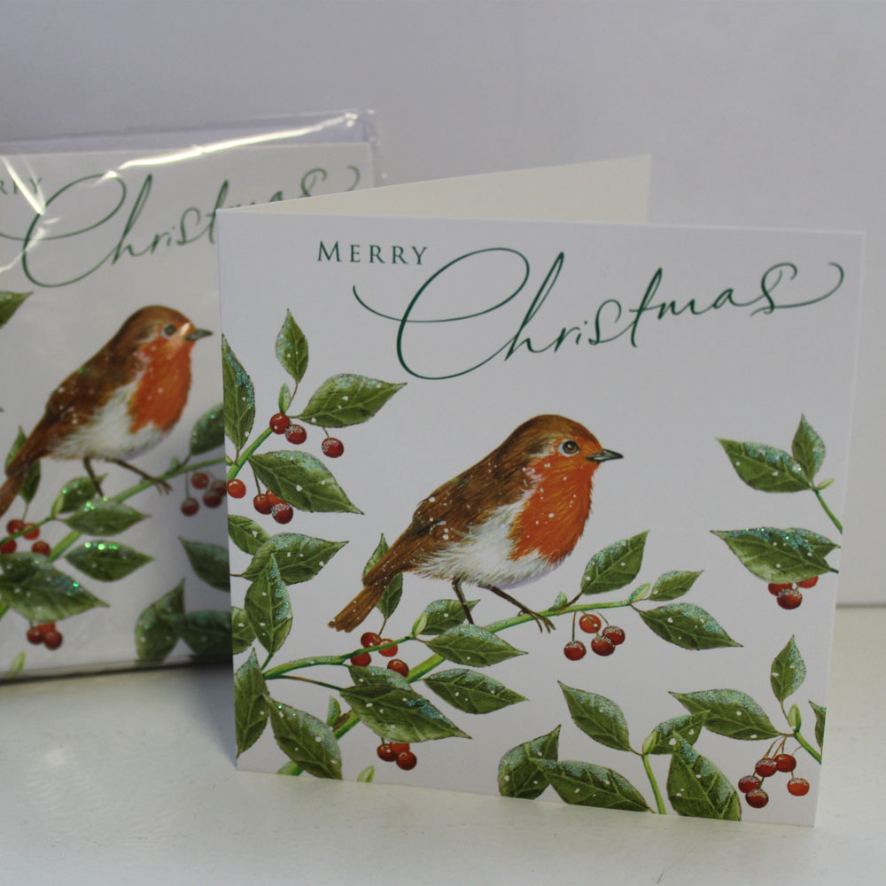 Christmas Cards - Robin