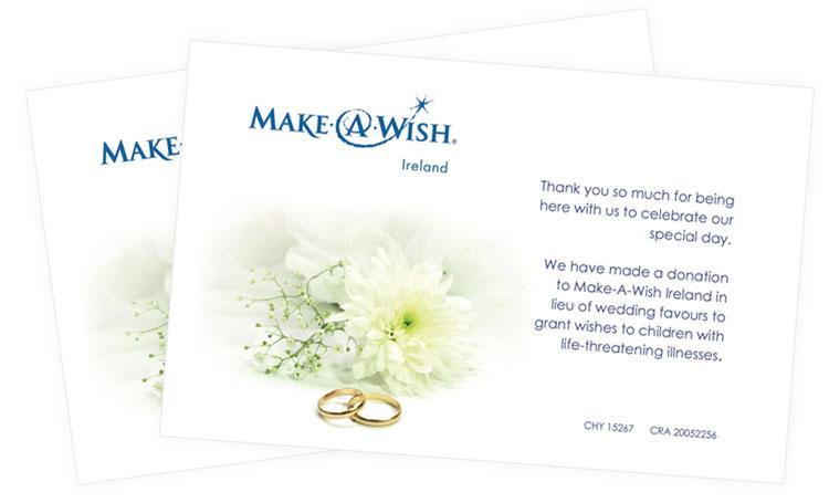 wedding favours make a wish