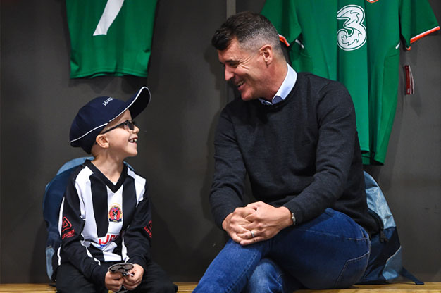 Tomás wished to meet Roy Keane