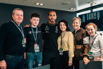I wish to meet Lewis Hamilton