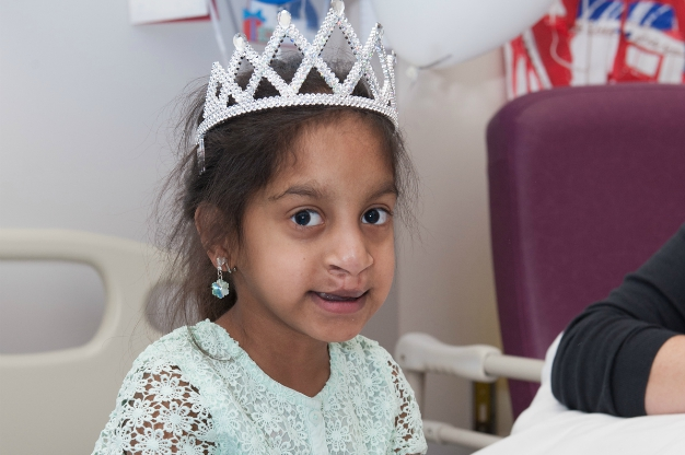 Pranathi wished for a princess party