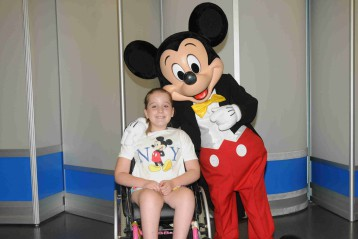I wish to got to Disney World Florida
