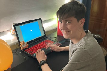 Jacob's wish to have a gaming laptop
