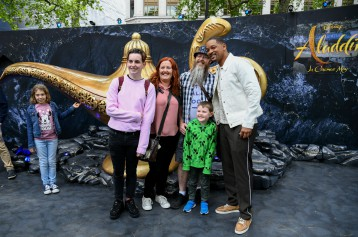 Will Smith grants Oisin's wish to go to Disneyland