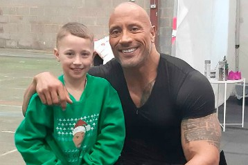 I wish to meet Dwayne Johnson