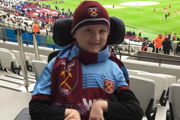 I wish to attend a West Ham United game